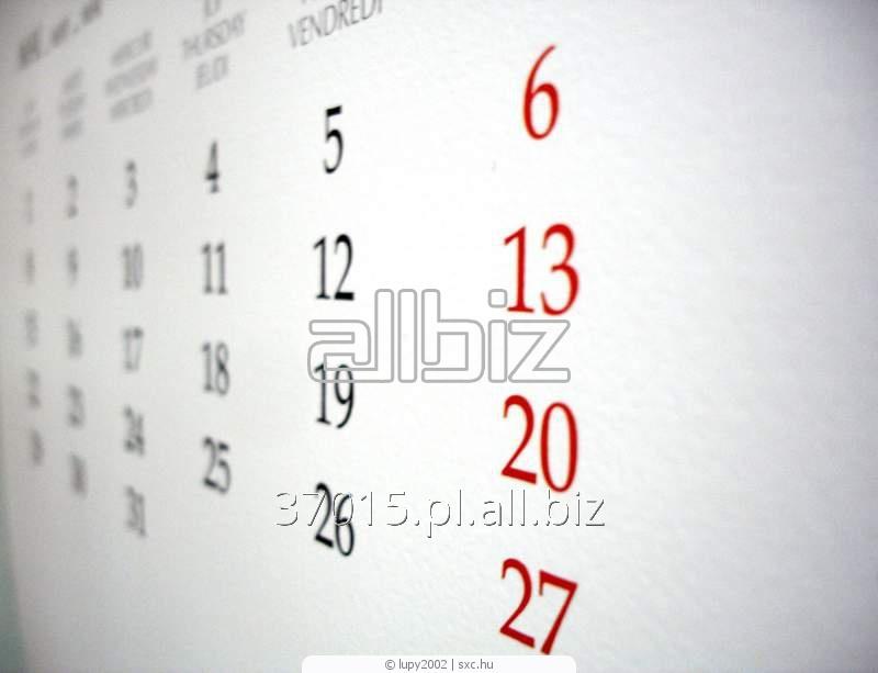 Zamówienie Druk kalendarzy
