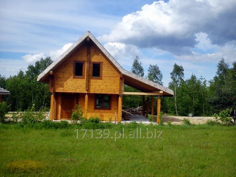 Zamówienie Solidne domy z bali na lata budowane wg. projektu klienta lub wg. dostępnych wzorów.