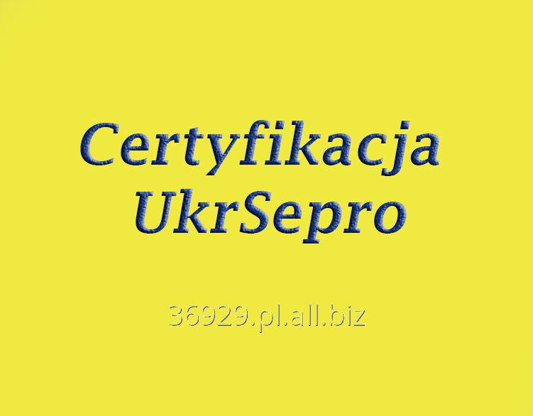 Zamówienie Certyfikat UkrSepro