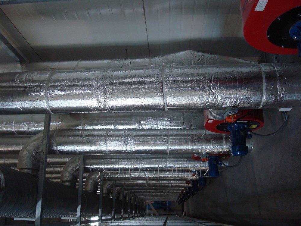 Zamówienie Instalacje technologiczne- odzysk ciepła od maszyn, suszarnie, spawalnie, lakiernie
