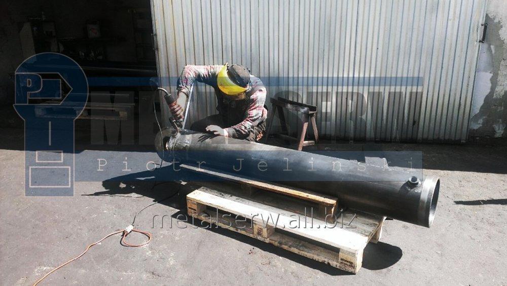 Zamówienie Naprawy siłowników hydraulicznych