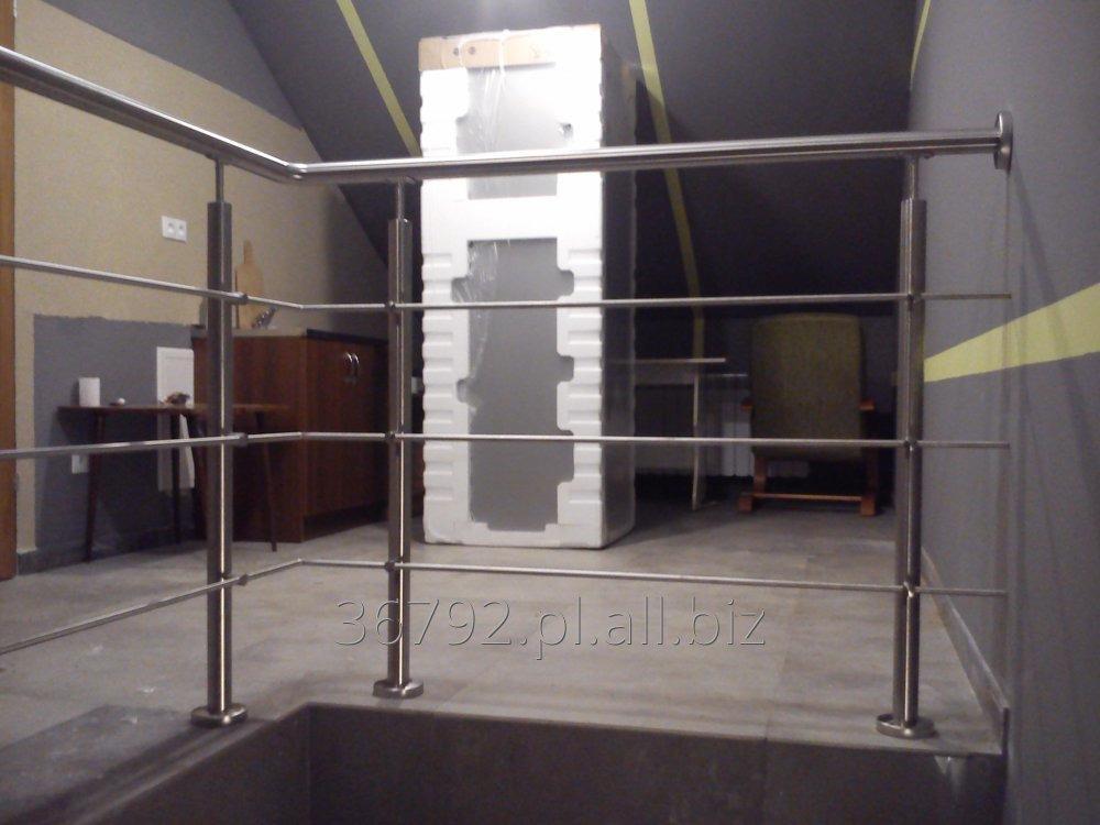 Zamówienie Balustrada nierdzewna