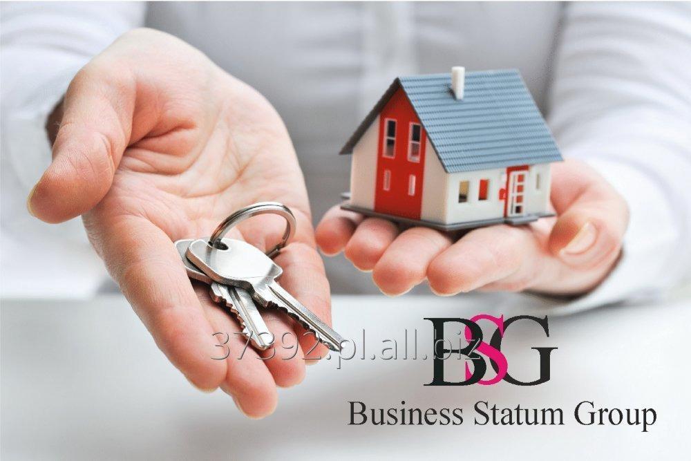 Zamówienie Świadczenie usług na rynku nieruchomości