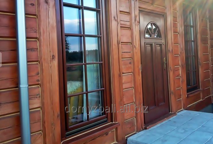 Zamówienie Renowacja, konserwacja i odnawianie domów z drewna i bali.