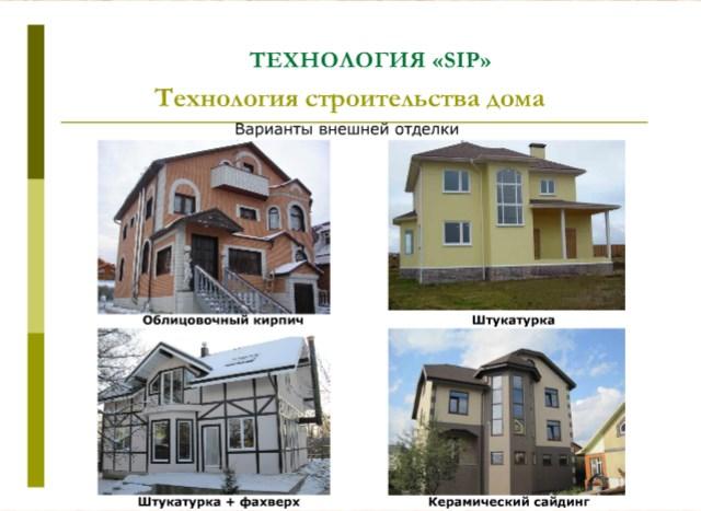 Zamówienie Budowa domów SIP