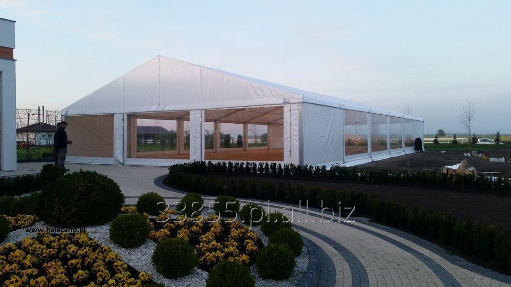 Zamówienie Wynajem hal namiotowych, aluminiowych, Hale Carlo