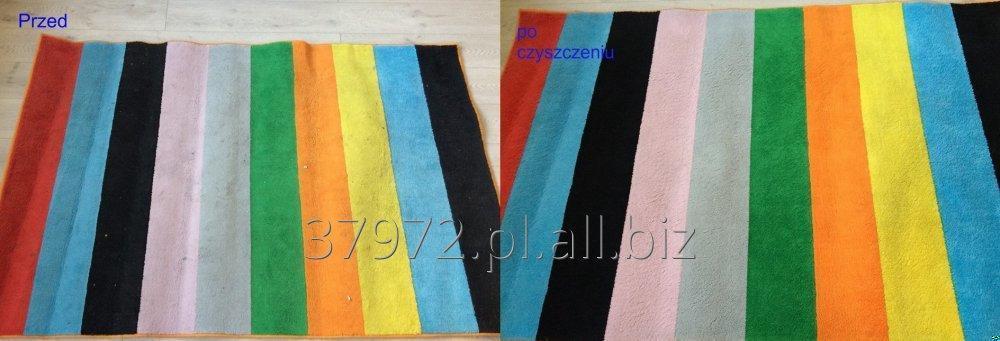Zamówienie Czyszczenie dywanów, wykładziny dywanowej