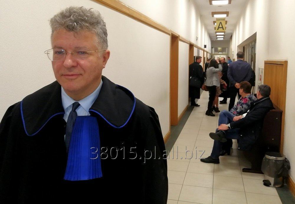 Zamówienie Pomoc prawna - Doradztwo prawne - Reprezentacja w Sadzie - Zastępstwo procesowe.