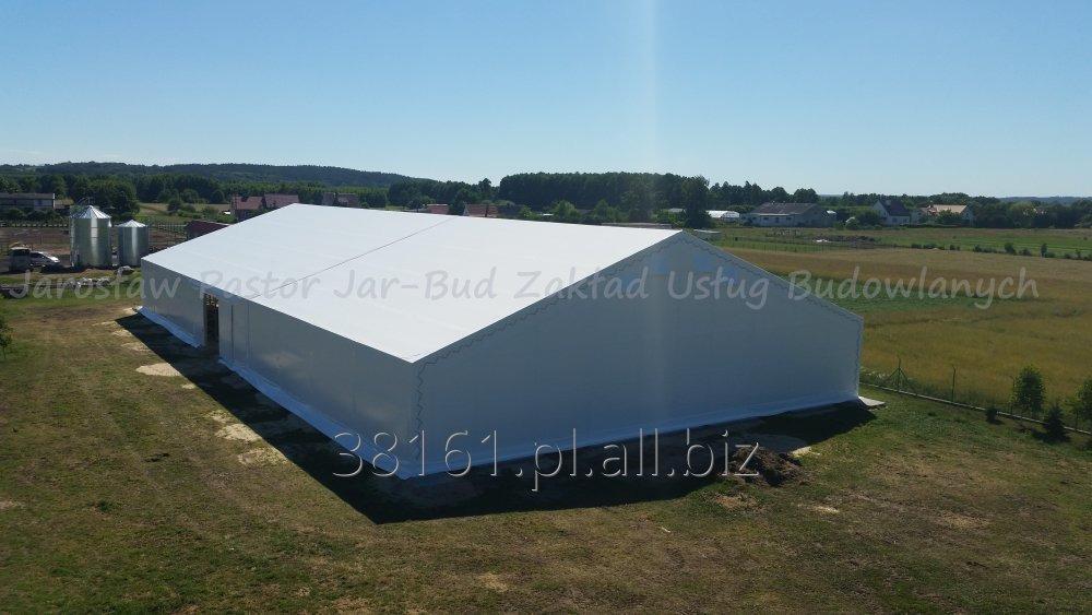 Zamówienie Produkowanie Hale namiotowe dla bydła