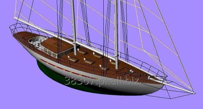 Zamówienie Projekty jachtów żaglowych