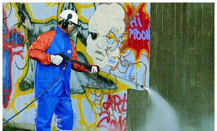 Zamówienie Zabezpieczenie powierzchni przed graffiti
