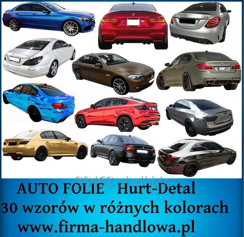 Zamówienie Folie okleiny samochodowe, folie do lamp, folia do przyciemniania szyb, oklejanie samochodów