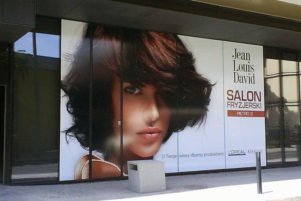 Zamówienie Reklama w centrach handlowych, galeriach, pasażach
