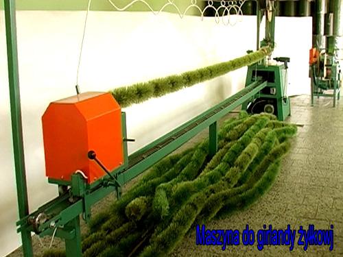 Zamówienie Maszyny do produkcji choinek sztucznych