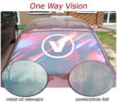 Zamówienie Folia one way vision