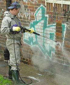 Zamówienie Usuwanie graffiti