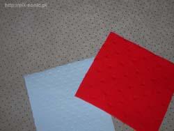 Zamówienie Pikowanie tkanin metodą ultradźwiękową