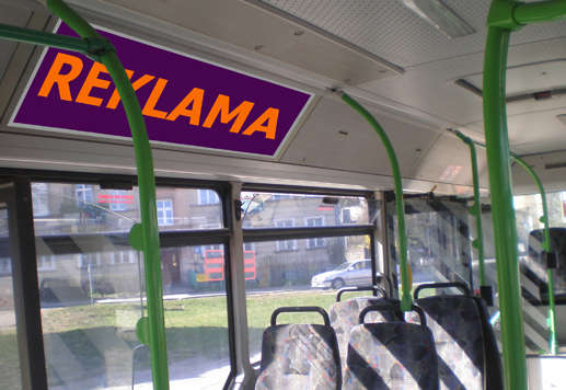 Zamówienie Reklama w autobusach - Gdańsk, Sopot, Gdynia
