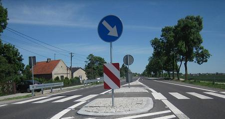 Zamówienie Oznakowanie pionowe dróg