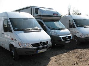 Zamówienie Transport samochodami dostawczymi