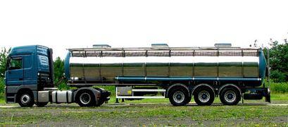 Zamówienie Transport cysterny