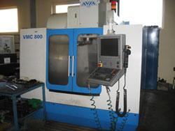 Zamówienie Pionowe centrum obróbkowe VMC 800