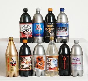 Zamówienie Rozlew napojów energetycznych