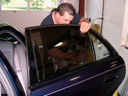 Zamówienie Montaż folii samochodowych - przyciemnianie szyb