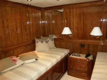 Zamówienie Mebli, ściany, sufity jachtu