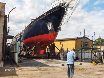 Zamówienie Zabudowa jachtów