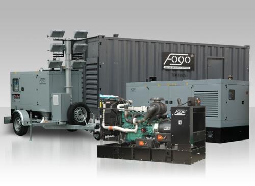 Zamówienie Agregaty prądotwórcze Fogo