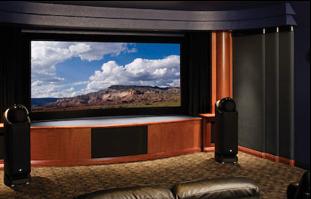 Zamówienie Projektowanie sal kinowych w domu