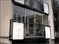 Zamówienie Aluminiowe zabudowy balkonów