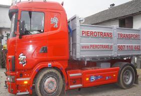 Zamówienie Transport ciężarowy