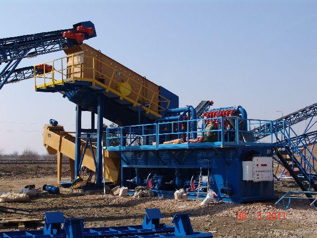 Zamówienie Budowa kompletnych linii technologicznych do przetwórstwa kruszyw mineralnych.