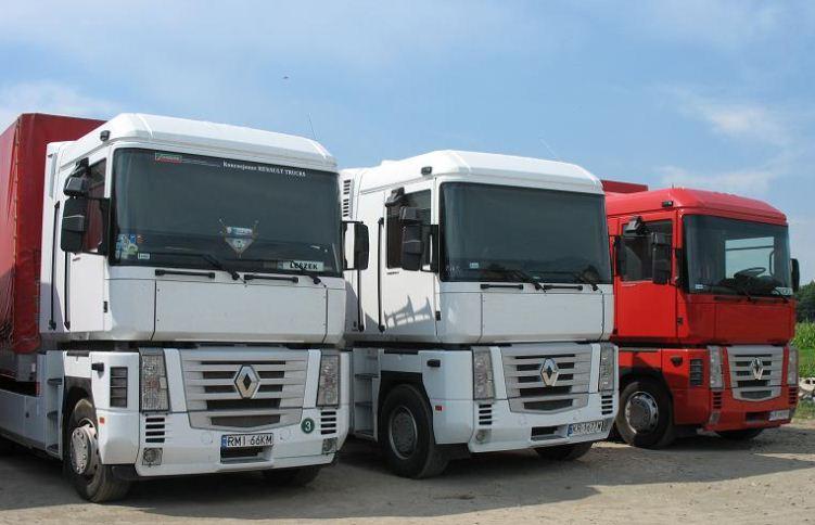 Zamówienie Przewozy ładunków z i do krajów: Ukraina, Mołdawia, Rumunia, Bułgaria, Macedonia,Serbia, Albania, Grecja, oraz Czechy i Niemcy.