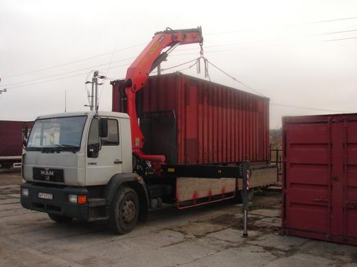 Zamówienie Transport kontenerów