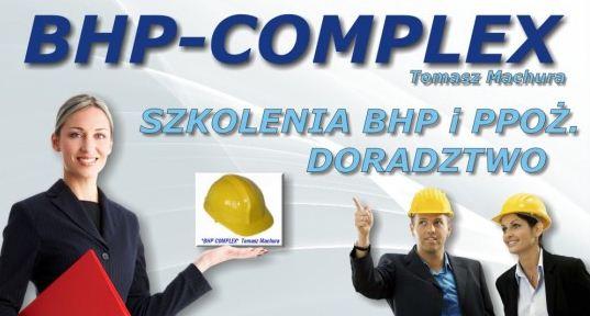 Zamówienie Kompleksowe szkolenia z zakresu BHP i P.POŻ.