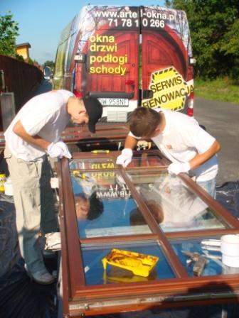 Zamówienie Serwis i renowacja okien drewnianych