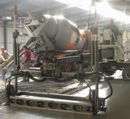 Zamówienie Wynajem maszyny LASER SCREED S-240