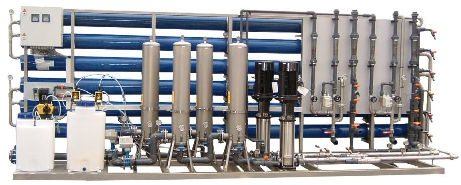 Zamówienie Stacje uzdatniania wody dla przemysłu