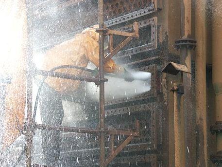 Zamówienie Czyszczenie kondensatorów turbin parowych i innych wymienników ciepła