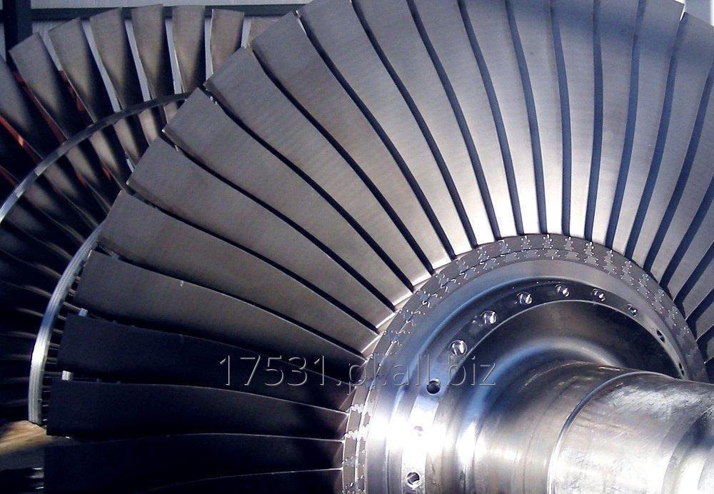 Zamówienie Chemiczne usuwanie osadów z wirników turbin i maszyn wirujących
