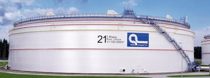 Zamówienie Dostawa i montaż zbiornika (na ropę surowcową)