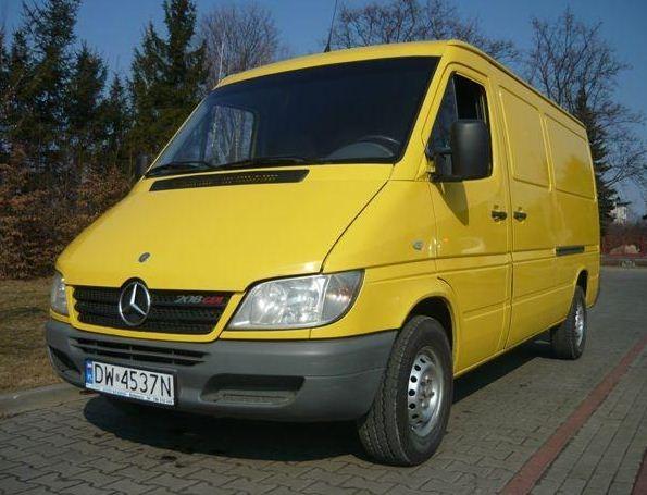 Zamówienie Samochody duże, Mercedes-Benz Sprinter 208 CDI