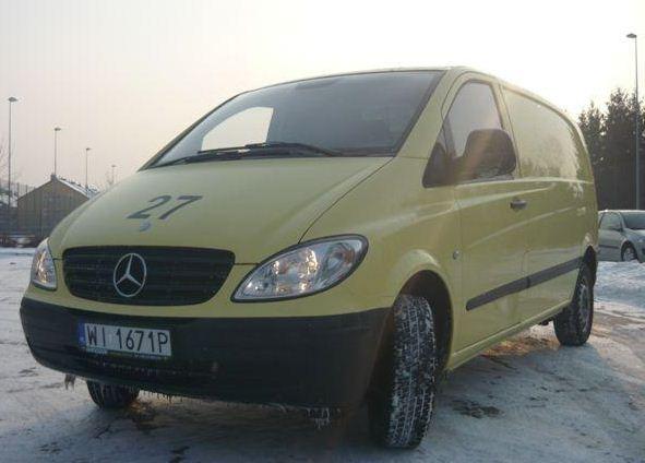 Zamówienie Samochody średnie, Mercedes Vito