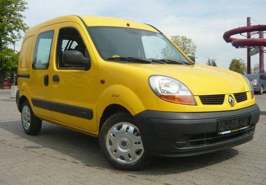 Zamówienie Samochody małe, Renault Kangoo