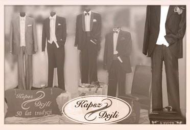 Zamówienie Autorskie kolekcje garnitur