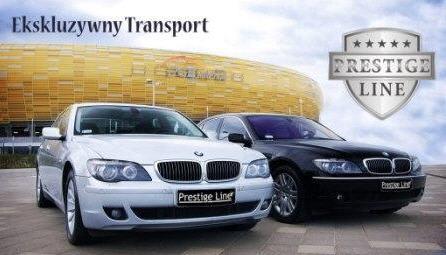 Zamówienie Prestige Line - VIP taxi Gdańsk