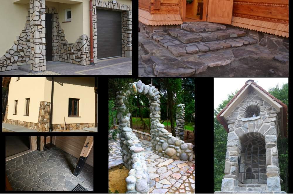 Zamówienie Układanie kamienia oraz roboty ciesielksie fachowo i tanio